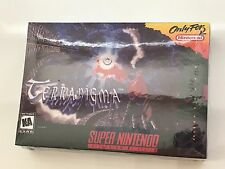 Terranigma (Super Nintendo SNES, 1996) Timewalk Games NEW SEALED FIRST EDITION