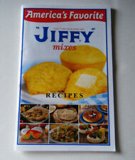 Jiffy Mixes Recipes Book America's Favorite Cookbook Booklet Muffins Breads