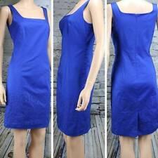 JONES NEW YORK Signature Blue Eyelet dress-Size 4-fully lined-NWT $129.00