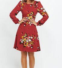 Polyester Long Sleeve Skater Formal Dresses for Women