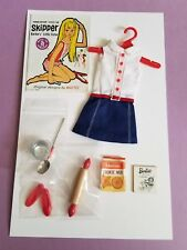 Vintage Skipper Cookie Time #1912 Dress and set - Complete (1965-66)