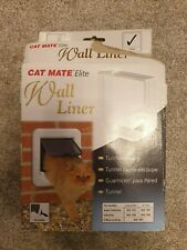 Brand New in Box Cat Mate Elite Wall Liner - Tunner for Cat Flap