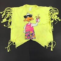 Vintage T-Shirt 1986 Party Animal HOT, single stitch SHREDDED derelict