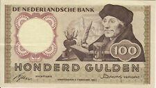 Nederland - Netherlands - 100 gulden 1953