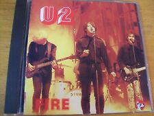 U2 FIRE CD LIVE BOSTON 1981