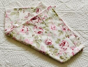 """Simply Shabby Chic Rosalie Curtain Panel 54"""" x 84"""" ~ Cottage Roses Pink Floral"""