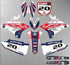 Yamaha YZ 125 250 2015 2016 2017 2018 graphics kit set decals stickers aufkleber