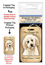 Labradoodle Baggage Buddies Luggage Tag