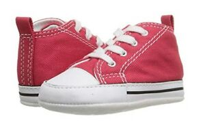 NEW CONVERSE CRIB TODDLER UNISEX BABY RED FREE SHIPPING MEDIUM