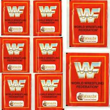 1992 Merlin WWF Wrestling Federation - 10 UNOPENED PACKS - Hulk Hogan