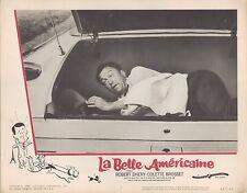 La Belle Americaine 1962 11x14 Lobby Card #2