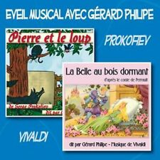 CD Pierre et le loup - La belle au bois dormant / Gérard Philipe / IMPORT