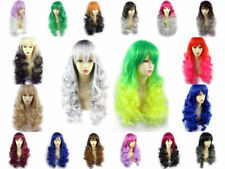 Ombré Adult Curly Wigs & Hairpieces