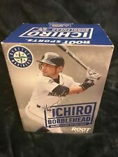 Rare Ichiro Suzuki Double Bobblehead 2 Major League Hit Records Seattle & Miami