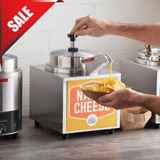 35 Qt Electric Countertop Nacho Cheese Sauce Warmer Pump Dispenser 120v