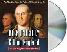 Killing England Brutal Struggle for American Independence Audio CD Bill O'Reilly
