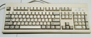 Vintage IBM KB-8923 07H0665 Wired PS/2 Keyboard TESTED & Works - Needs Clean