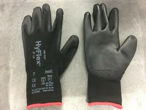 Lot of 216 Hyflex 48-101 Gloves Polyurethane Coated Home Industrial Work Size 7