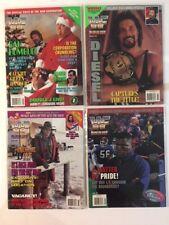 Lot of 4 WWF Magazine 1995 Jan Feb Mar Apr Bundy Diesel Michaels L.T. IRS WWE