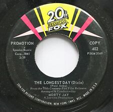 Soundtrack The Longest Day 45 Morty Jay - The Longest Day (Dixie) / The Longest