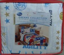 Disney Dreams Collection Full Sheet Set - How To Be A Sports Fan - BRAND NEW