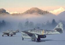 L'ALBA DI UNA NUOVA ERA-ME 262 Messerschmitt-War Poster Artistico A3 stampa