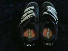 Pearlizumi Black&White I-Beam Cycling Shoes Sz 6.5 Womens