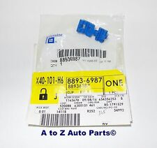 NEW 2002-2006 Chevrolet Avalanche Tailgate LATCH END ROD Blue CLIP, OEM
