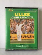 LILLEE OVER AND OUT read by RICHIE BENAUD ~ 2 CASSETTES ~ EXCELLENT CONDITION