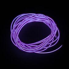 1-5M Flash Flexible Neon LED  Glow EL Strip Tube Wire Rope Car Party Light LY