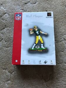 Brett Favre Green Bay Packers Forever Collectibles Wall Plaque New