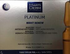 NEW MARTIDERM  PLATINUM Alfa Peeling NIGHT RENEW 31 AMPULES 2ml EXP.DATE01/ 2020