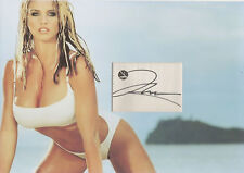 KATIE PRICE Signed 12x8 Photo Display Glamour Model JORDAN COA