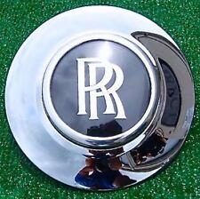 Factory Rolls Royce Phantom Center Cap w Chrome Bezel Genuine OEM 21 inch Wheel