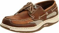 Sebago Clovehitch II Men's Dark Taupe/Dark Brown Loafers NW/OB