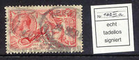 GB 1918 George V and Britannia, Bradbury 5 Sh. redlilac, VFU Expertized