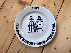 450 Jahre Kurort Oberwiesenthal 1977 Teller Colditz Andenken DDR