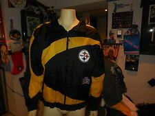 pittsburgh steelers pro player light wt jacket size lg
