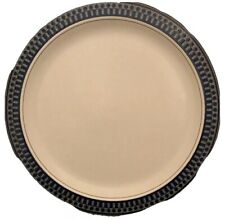 Mikasa Aztec Blue Potters Touch C8009 Chop Plate Platter Serving Dish 12 3/4 In