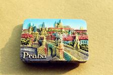 Praha (Prague) Czech Tourist Travel Souvenir 3D Resin Fridge Magnet Craft Gift