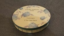 NEW Laura Ashley Hydrangea 3 Tier Cake Stand