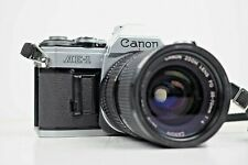 {Exc+++++} CANON AE-1 Silver w/ 35-70mm f/4 FD Lens 35mm SLR Camera From Japan