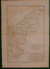 1788 DATED RIGOBERT BONNE MAP ~ HIGH SAXONY NORTHERN SECTION EAST PART