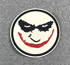 Joker Face Batman Patch TV iron on 3in si