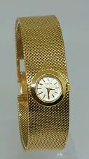 Vintage Artdeco Gubelin Ladies Watch in 18K Yellow Gold 41.5gr