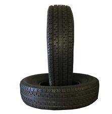 2 New Tires 225 75 15 Loadmaxx ST Radial Trailer 10 Ply ST225/75R15 112L 10PR