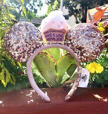 Disney Parks Food And Wine Festival 2019 Minnie Ears Headband Cupcake (NEW)