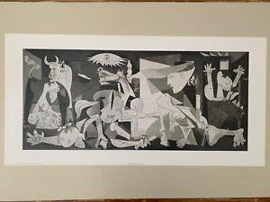 PICASSO,'GUERNICA,1937' RARE AUTHENTIC 2003 ART PRINT