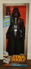 """Darth Vader - 31"""" tall w/ Articulation, Cape, miniDarth flashlight - New In Box"""