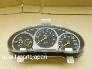 Subaru Impreza GDB WRX STI Gauge Cluster GGB Genuine Speed Meter